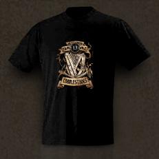 T-Shirt Men schwarz mit Logo